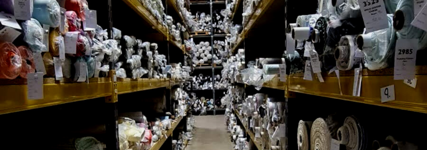 Seeing is Believing - Incredible Variety of Ex Designer and Deadstock Fabrics in Stock